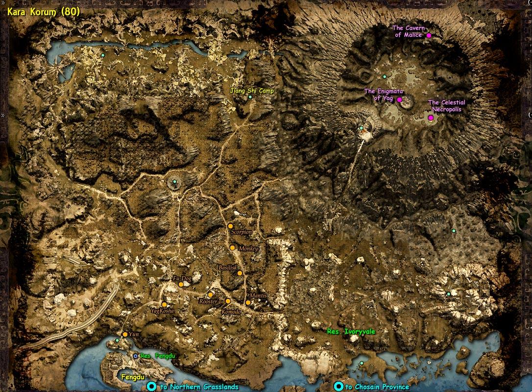 AoC Maps