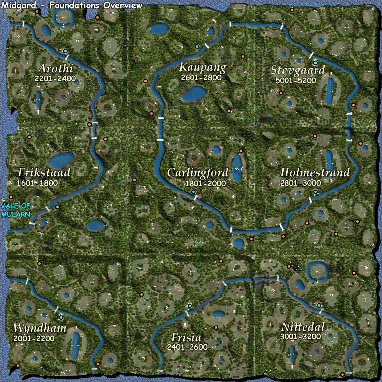 Mappe di DAoC